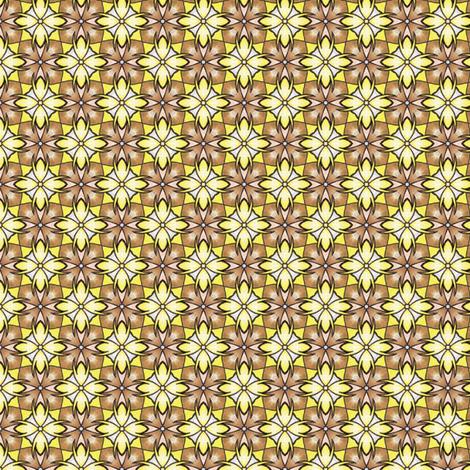 Sinicha's Banana Check fabric by siya on Spoonflower - custom fabric