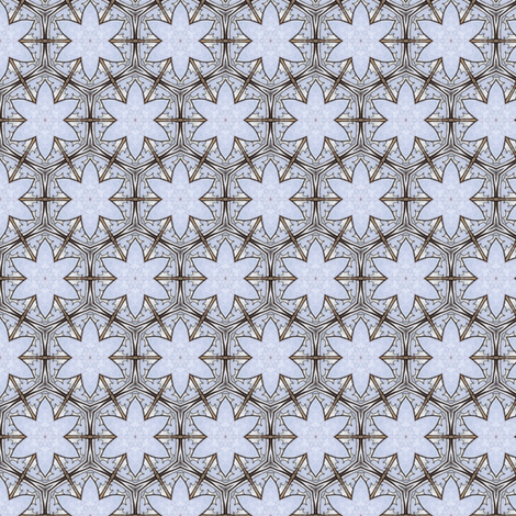 Sinicha's Iceflower fabric by siya on Spoonflower - custom fabric