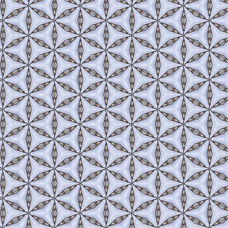 Sinicha's Interlocking Caltrops fabric by siya on Spoonflower - custom fabric