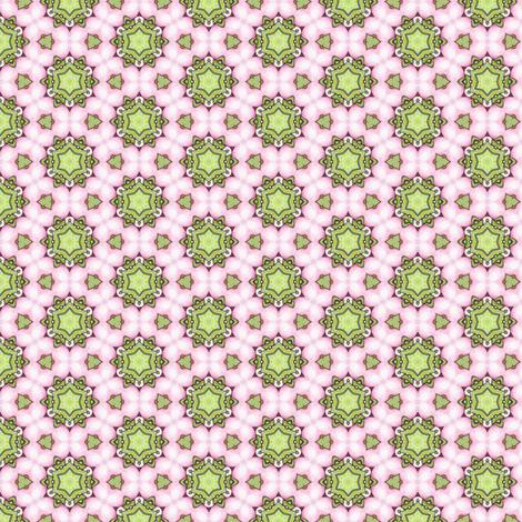 Rosalie's Star fabric by siya on Spoonflower - custom fabric