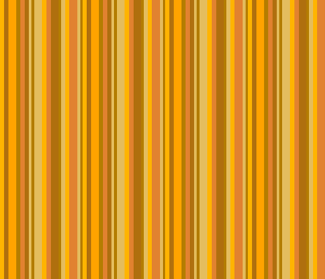 Squirrel Orange Stripe fabric by uzumakijo on Spoonflower - custom fabric