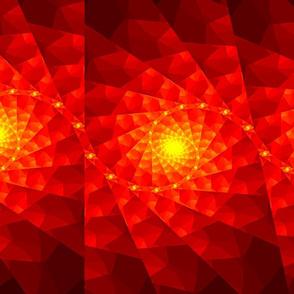 Red Spiral Fractals
