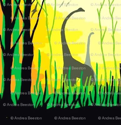 dinosaur - the Brachiosaurus