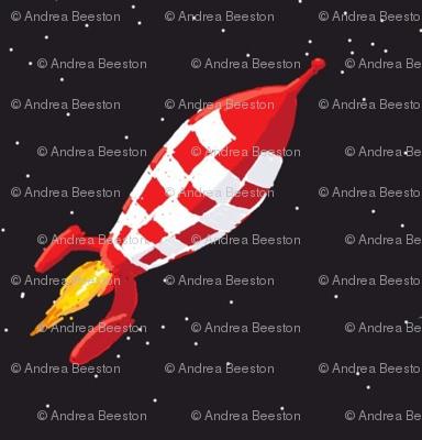 space rocket ship