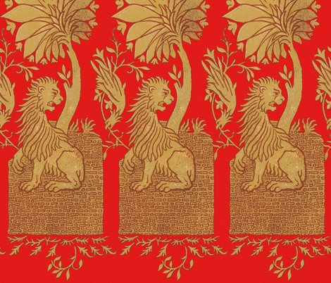 13th_century_lion___blood_red___peacoquette_designs___copyright_2014_shop_preview