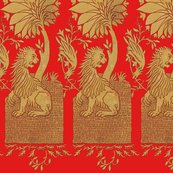 13th_century_lion___blood_red___peacoquette_designs___copyright_2014_shop_thumb