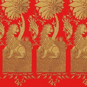 Thirteenth Century Golden Lion