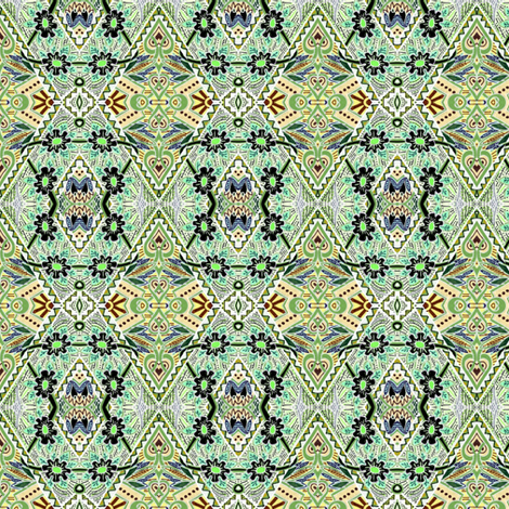 Retro Sixties Country Patchwork  fabric by edsel2084 on Spoonflower - custom fabric