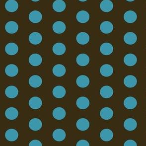 Polkadot in Brown (Aqua Dots)