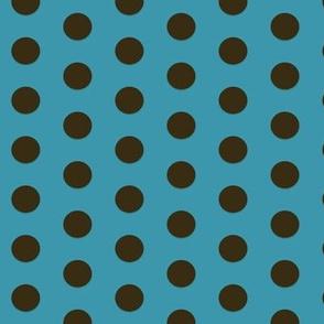Polkadot in Aqua