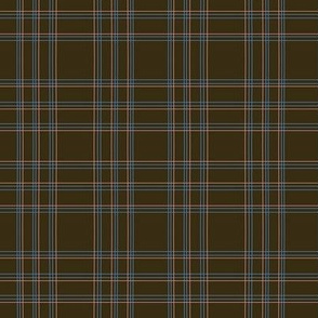 Plaid in Brown
