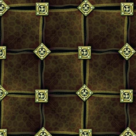 turtleskin leather armor fabric by glimmericks on Spoonflower - custom fabric