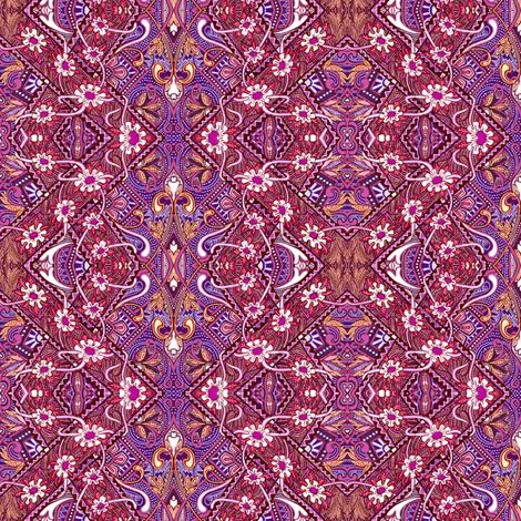 Lazy Daisy Bandana-Arama fabric by edsel2084 on Spoonflower - custom fabric