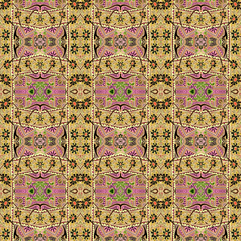 Zig Zag Swiss Tapestry fabric by edsel2084 on Spoonflower - custom fabric