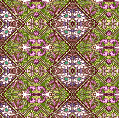 The Summer of '62 fabric by edsel2084 on Spoonflower - custom fabric