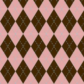 Argyle in Pink