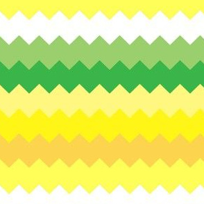 Happy Yellow Chevrons