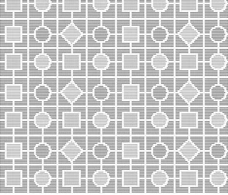 Art By Typewriter - Geometric fabric by shelleymade on Spoonflower - custom fabric