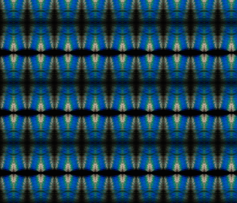 Blue Ripples fabric by walkwithmagistudio on Spoonflower - custom fabric