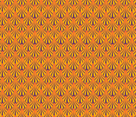 fanout autumn fabric by glimmericks on Spoonflower - custom fabric