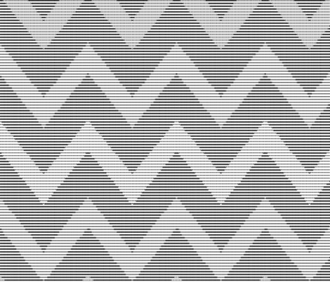Art By Typewriter - Chevron fabric by shelleymade on Spoonflower - custom fabric