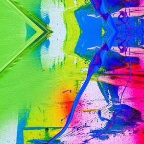 Bright Living Futuristic Abstract Design # 4