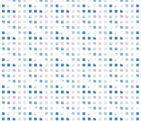 blue wash checks fabric by mojiarts on Spoonflower - custom fabric