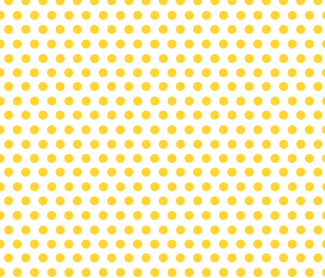 mango dots fabric by mojiarts on Spoonflower - custom fabric