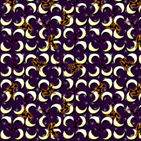 witch_moon fabric by glimmericks on Spoonflower - custom fabric