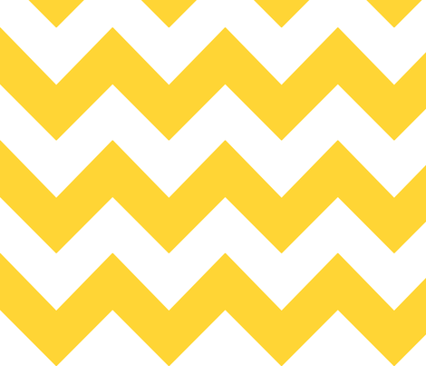 mango chevron fabric by mojiarts on Spoonflower - custom fabric