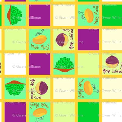 mango checker board