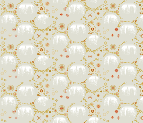 Russian winter fabric by isabella_asratyan on Spoonflower - custom fabric