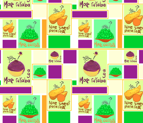 rutabaga mod rectangles 2 fabric by mojiarts on Spoonflower - custom fabric