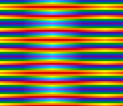 rainbow wall fabric by ladyleigh on Spoonflower - custom fabric