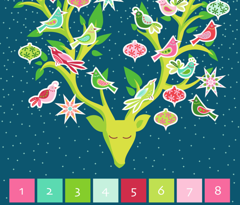 Festive Forest Advent Calendar