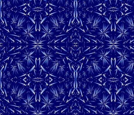 night_sky_designer lydia falletti  fabric by artsylady on Spoonflower - custom fabric