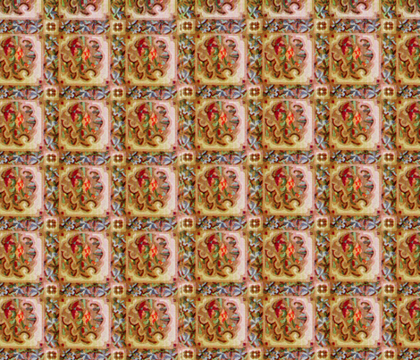 Vintage Tapestry fabric by tulsa_gal on Spoonflower - custom fabric