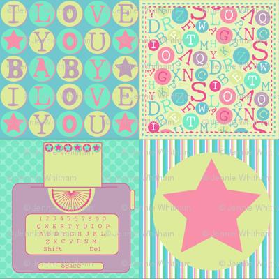 Bubblegum Typewriter