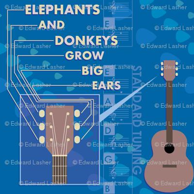 Elephants And Donkeys Grow Big Ears