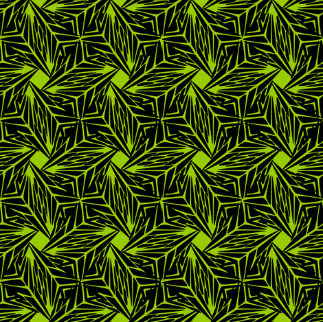 palm leaves fabric by glimmericks on Spoonflower - custom fabric