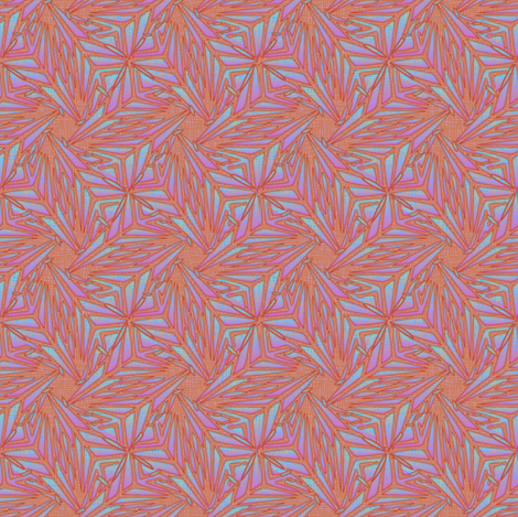 palm leaves - pale fire fabric by glimmericks on Spoonflower - custom fabric