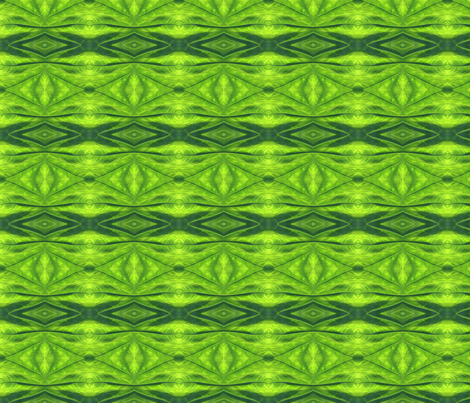 Green Leaf Diamond 2_0920 fabric by falcon11 on Spoonflower - custom fabric