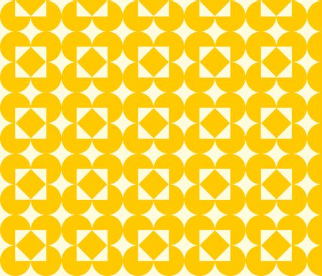 yellowdiamondpattern fabric by laurawilson on Spoonflower - custom fabric