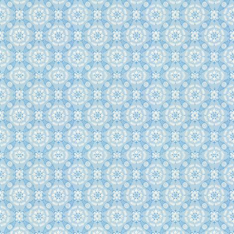 vintage light blue fabric by tulsa_gal on Spoonflower - custom fabric