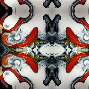DRE DESIGNS CHROMATIC ABSTRACT 205