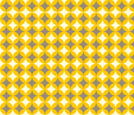 Grey Diamonds fabric by laurawilson on Spoonflower - custom fabric