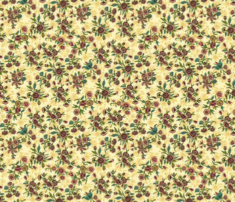 persianditsy2 fabric by unseen_gallery_fabrics on Spoonflower - custom fabric