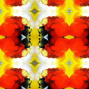 DRE DESIGNS CHROMATIC ABSTRACT 206