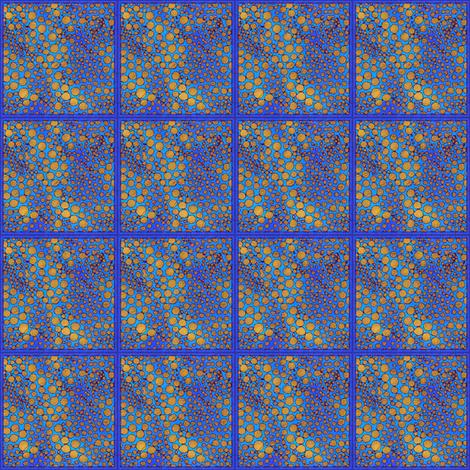 Dotty Cartography #4 fabric by tallulahdahling on Spoonflower - custom fabric