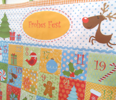 Christmas Calendar for Boys (Cut and Sew Pattern)